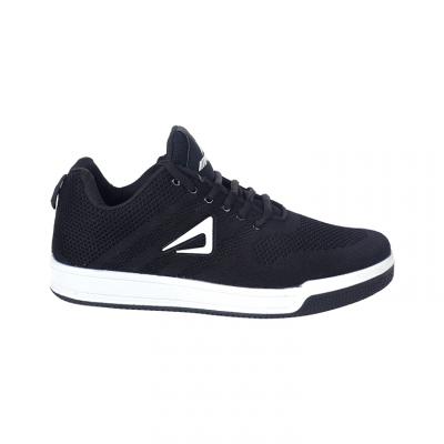 Impakto Men's Black Sports Shoes