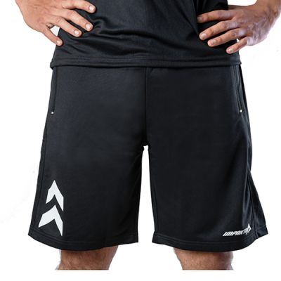 Buy Men's Black & White Dry Fit Shorts - Impakto